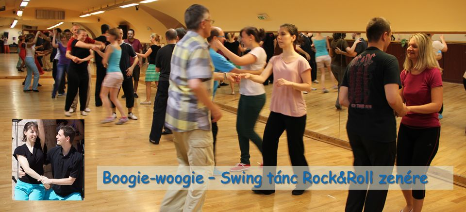 Boogie-woogie - Swing tánc Rock and Roll zenére
